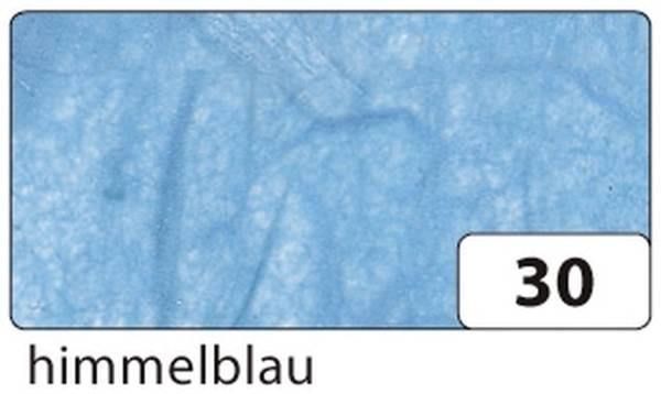 Strohseide 47 x 64 cm, himmelblau
