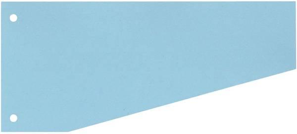 Trennstreifen Trapez 190 g qm Karton, blau, 100 Stück