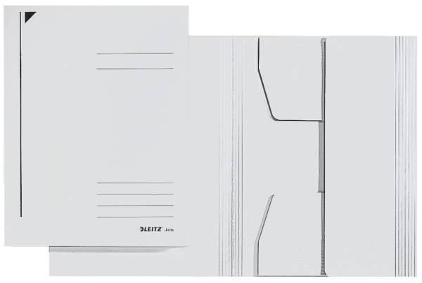 3924 Jurismappe, A4, Colorspankarton 300g, weiß
