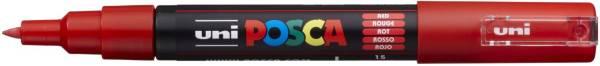 UNI-POSCA Pigmentmarker rot 186721 PC1MC