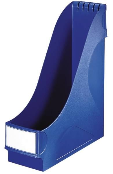 2425 Stehsammler extrabreit, A4, Kunststoff, blau