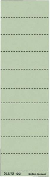 1901 Blanko Schildchen Karton, 100 Stück, grün