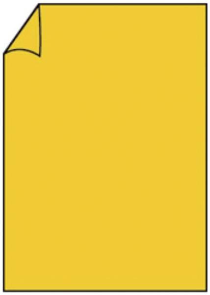RÖSSLER Briefbogen A4 165g 10ST gelb 220726543