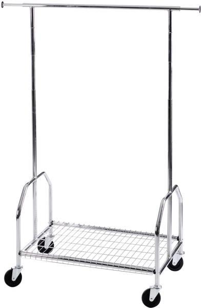 ALCO Garderobenständer 170cm fahrbar 2830 verchromt