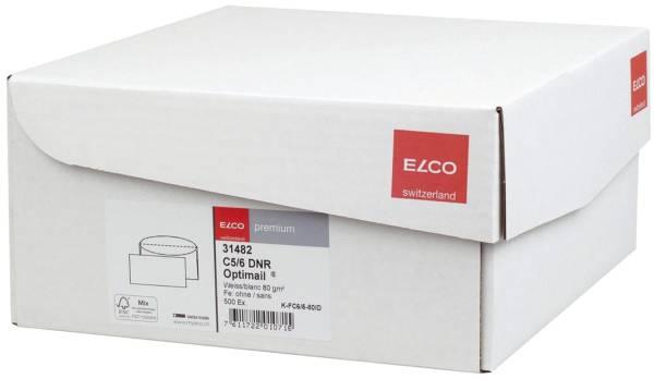 Briefumschlag Office Box mit Deckel C5 6 DL, weiß, nassklebend, ohne Fenster, 80 g qm, 500 Stück