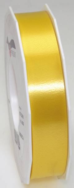 Ringelband Polyspleissband 25 mm x 91m, gelb