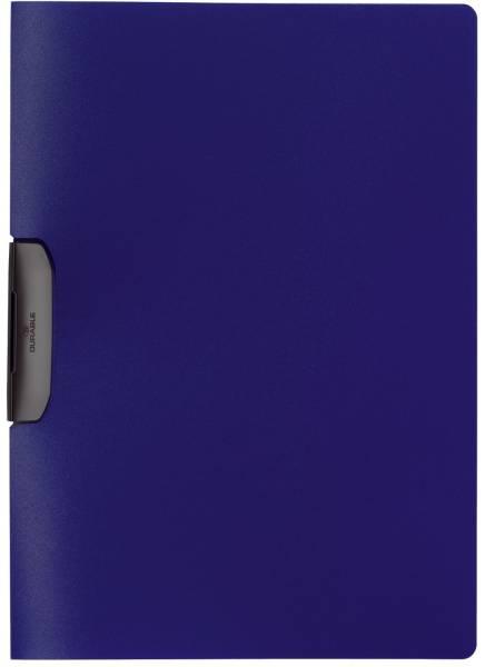 DURABLE Clip-Mappe Duraswing d.blau 2295 07 Plastik