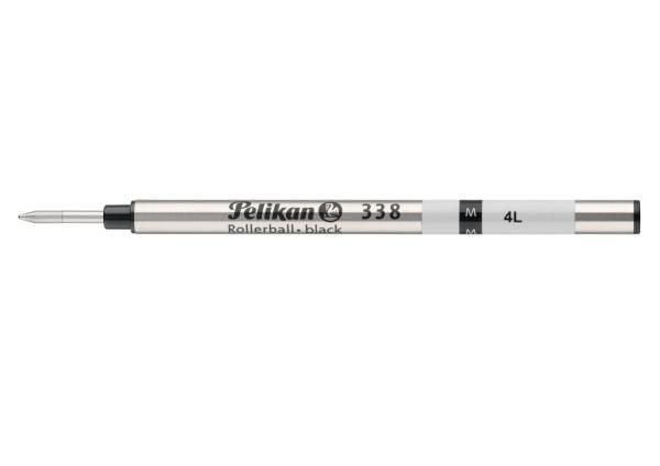 Tintenrollermine 338, Celebry und traditionelle Schreibgeräte, Mine M, schwarz