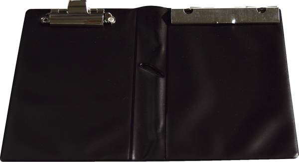 Kassenblockhülle für Kassenzettelblock 120 x 185 mm, 1, Plastik, schwarz
