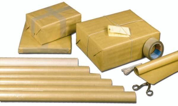 Packpapierrolle 1 m x 10 m, braun