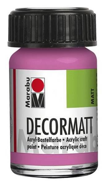Decormatt Acryl, Pink 033, 15 ml
