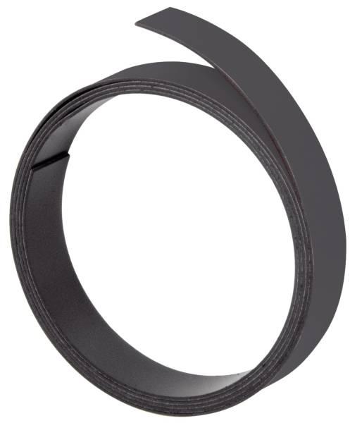 Magnetband, 100 cm x 5 mm, 1 mm, schwarz