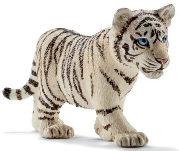 SCHLEICH Spielzeugfigur Tigerjunge weiß 14732