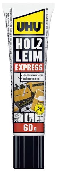 HOLZLEIM EXPRESS D2, ohne Lösungsmittel, Standtube mit 60 g