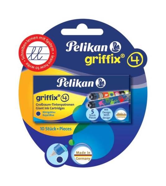 PELIKAN Tintenpatrone Griffix sortiert 960559 BK=2x5erEtui