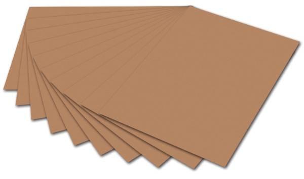 Tonpapier A4, hellbraun