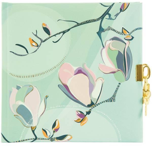 TURNOWSKY Tagebuch Magnolia mint 44 418 16.5x16.5 cm