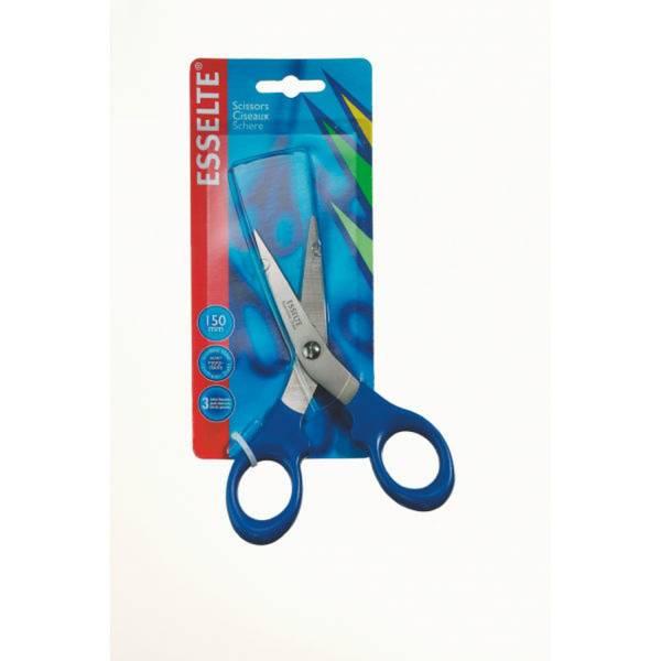 Schere 15cm blau