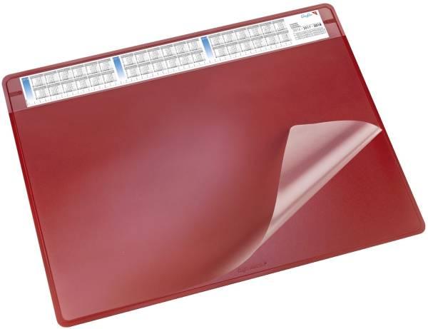 Schreibunterlage DURELLA soft 65 x 50 cm, rot