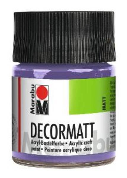 Decormatt Acryl, Lavendel 007, 50 ml