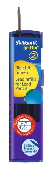 PELIKAN Bleistiftmine GRIFFIX 3ST 960476 2 mm