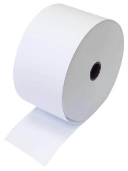 Additions und Kassenrollen, 2 fach, weiß weiß, 76x58x12 mm, 20 m