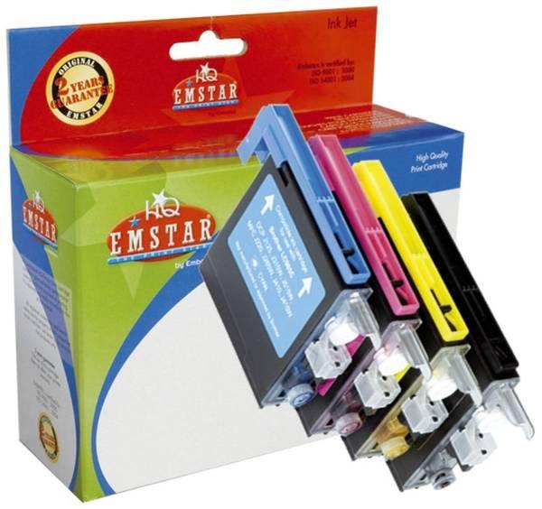 EMSTAR Inkjetpatrone Multipack 4-färbig B60 LC-985BK