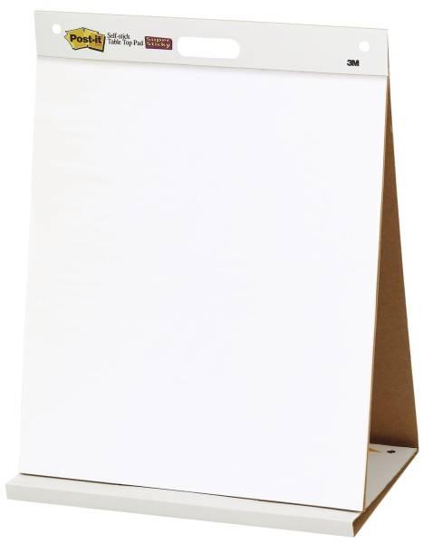 Flipchart Block Meeting Chart Table Top, weiß, 90 g qm, blanko blanko, 20 Blatt