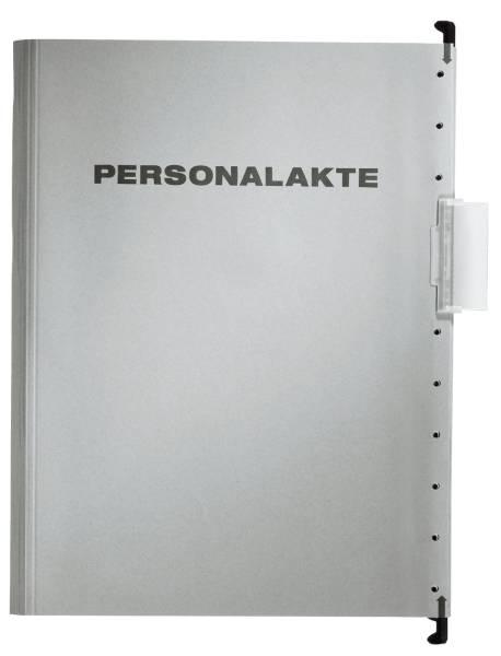 30041 Hängemappe Personalakte, 250 g Karton, A4, 5 Fächer, grau