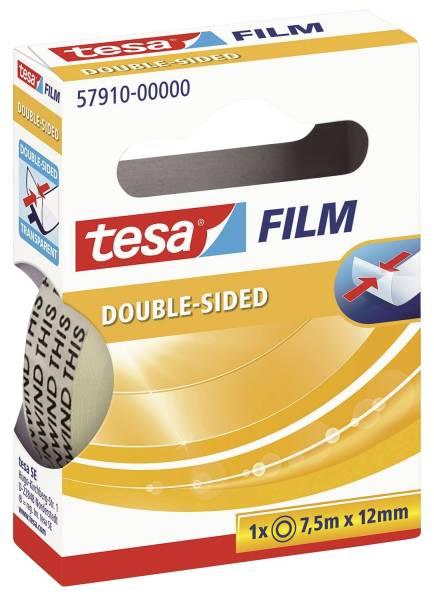 TESA Klebefilm 7,5m 12mm transparent 57910-00000-02 doppelseitig kl