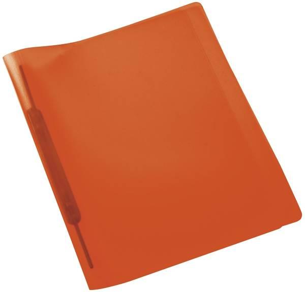 Spiralschnellhefter A4, transluzent, orange