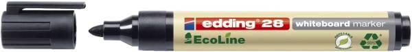 EDDING Whiteboardmarker EcoLine schwarz 28001
