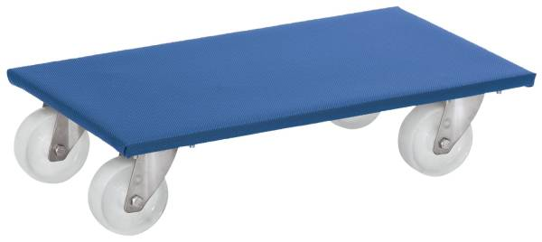 Möbelroller 2350 600 x 300 mm, bis 350 kg, blau, 2er Pack