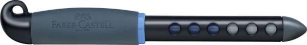 Schulfüller Scribolino Rechtshänder, A, schwarz blau