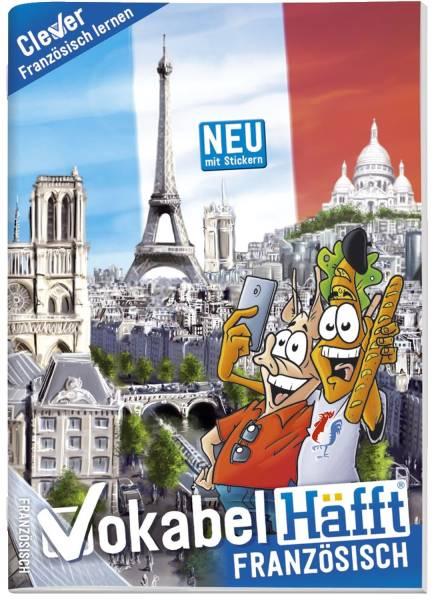 Vokabelheft A5 Französisch mit Lernhilfe