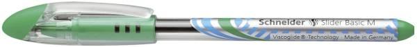 Kugelschreiber Slider Basic M, grün