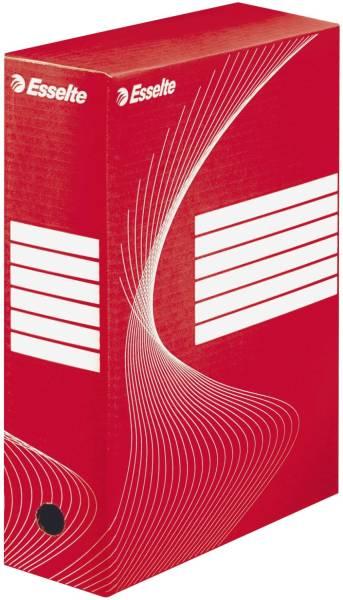 ESSELTE Archiv-Schachtel A4 10cm rot 128422