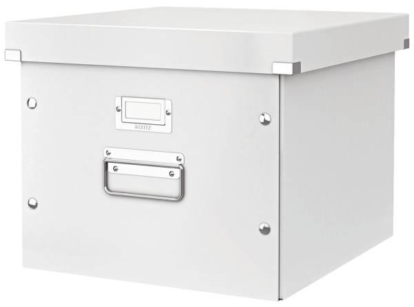 LEITZ Archivbox Hängereg. weiß 6046-00-01 Click&Store