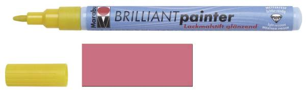 Brilliantpainter metallic rosa
