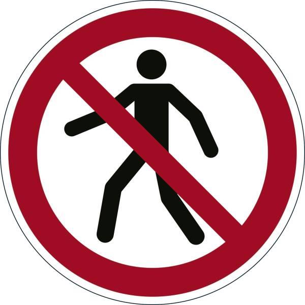 DURABLE Bodenmarkierungssymbol VERBOT 1732-03 Fußgänger verboten