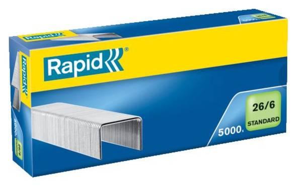 RAPID Heftklammer 26/6 G verzinkt 24861800 5000St