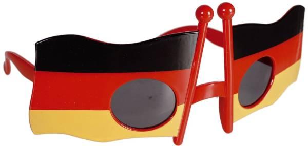 Brille Deutschland schwarz rot gelb