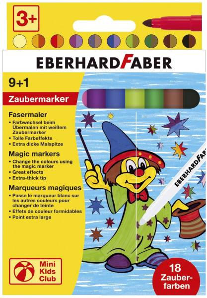 EBERHARD FABER Faserschreiberetui 10St sort. 551010 Zauber