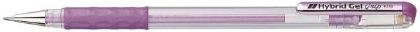 PENTEL Tintenroller Hybrid met. violett K118-MV