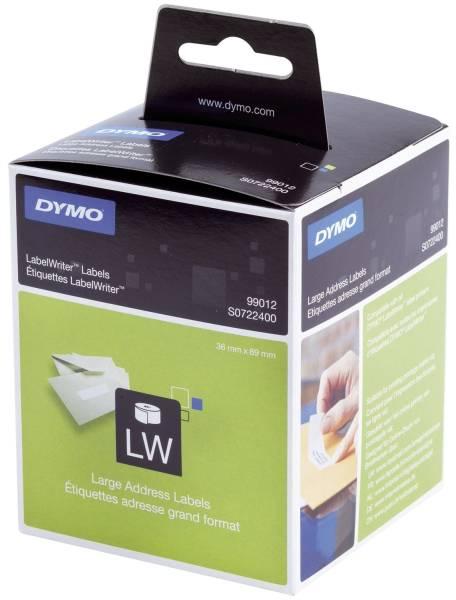 DYMO Adressetiketten 36x89mm weiß S0722400 99012 2x260ST