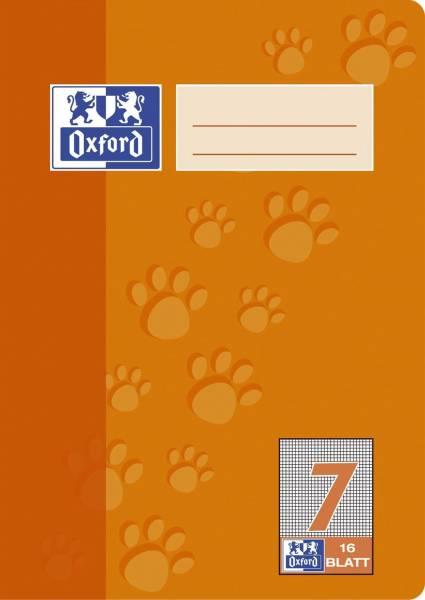 Heft A5 16 Blatt Lineatur 7