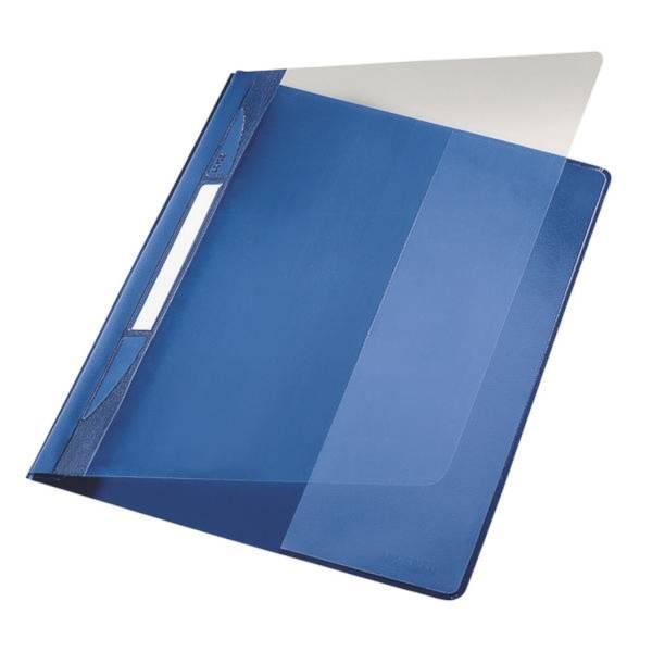 Schnellhefter A4 Plastik blau