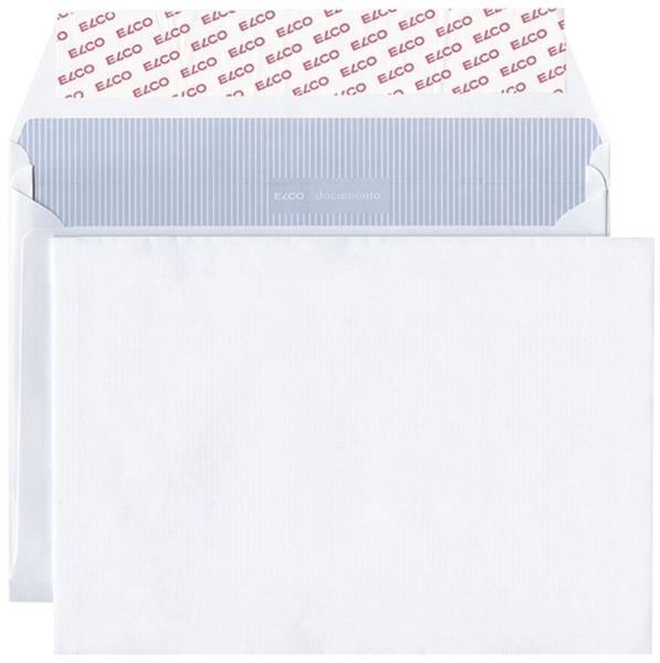 Versandtasche documento B5 120g weiß Kraft Haftklebung