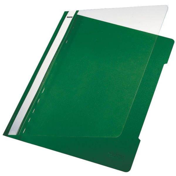 LEITZ Schnellhefter A4 grün 41910055 Plastik