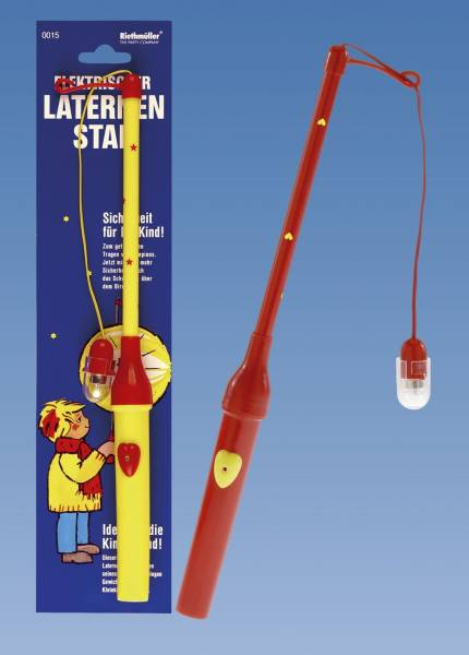 Laternenstab elektrisch, 30 cm, sortiert